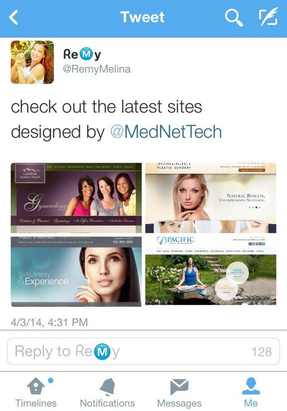 Learn How to Use Twitter's Newly Launched Photo Collage Feature This week, Twitter launched a helpful new feature in its photo posting options. Now, users can post a collage of up to four photos in one tweet — which can be a useful visual tool when you have to cram insightful... http://www.mednet-tech.com/newsletter/internet-marketing/learn-how-to-use-twitters-newly-launched-photo-collage-feature