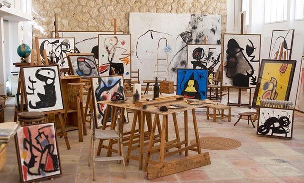 Miró's Studio, Mayoral | Culture Whisper