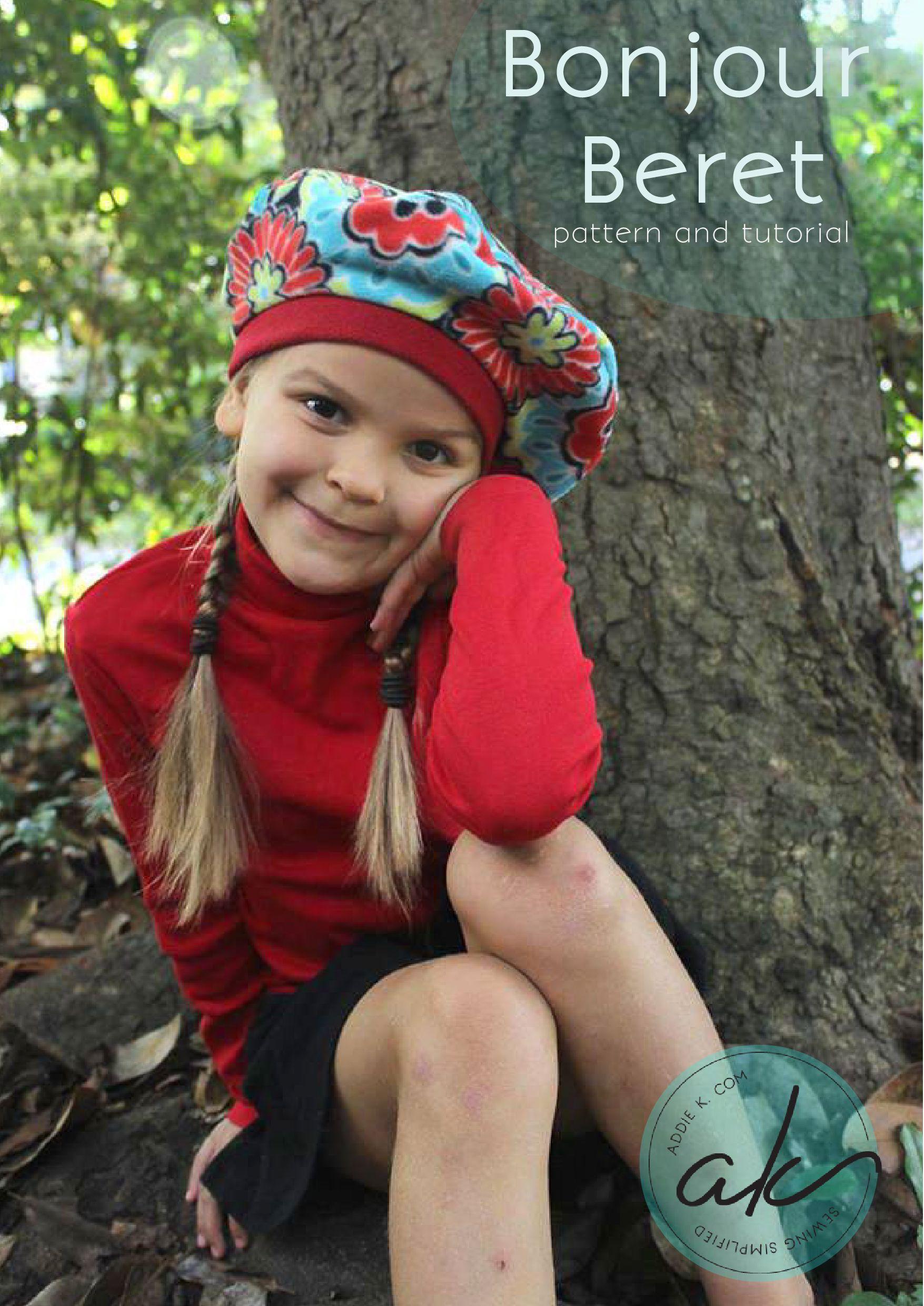 Bonjour Beret Tutorial by Addiek.com | Quilting & Textiles ...