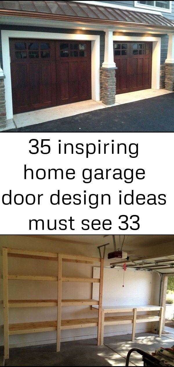35 inspiring home garage door design ideas must see 33design