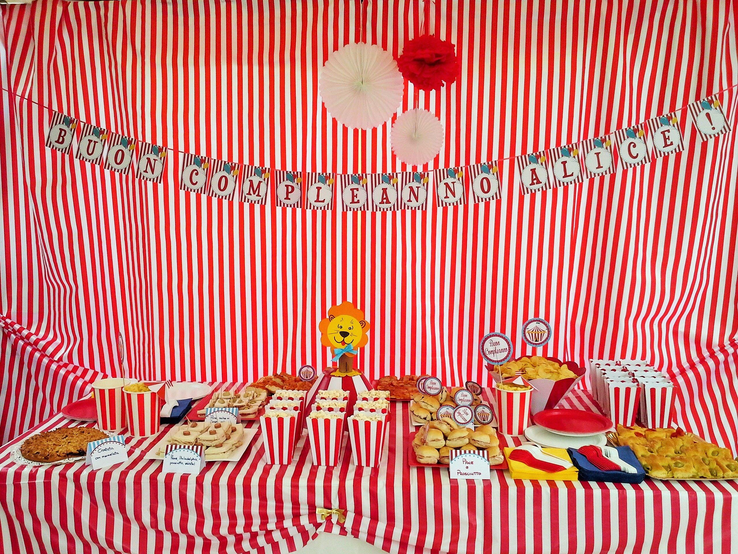 festa di pleanno tema circo Lara s party laraspartyeventi gmail