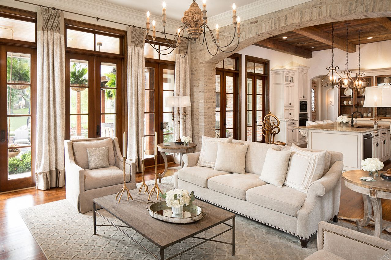 Beautiful Rooms Stunning Interiors Fabulous Home Decor Mediterranean Living Rooms Farmhouse Style Living Room Farm House Living Room #transitional #decorating #ideas #living #room