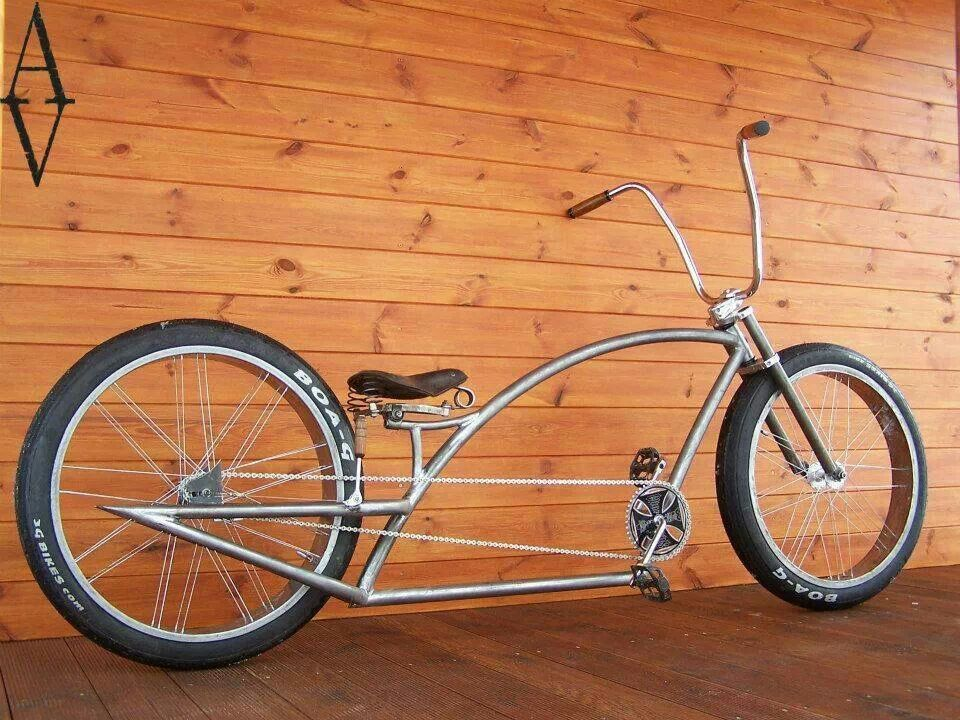 Stretched Custom Bicycles Pedal Power Pinterest Stretches