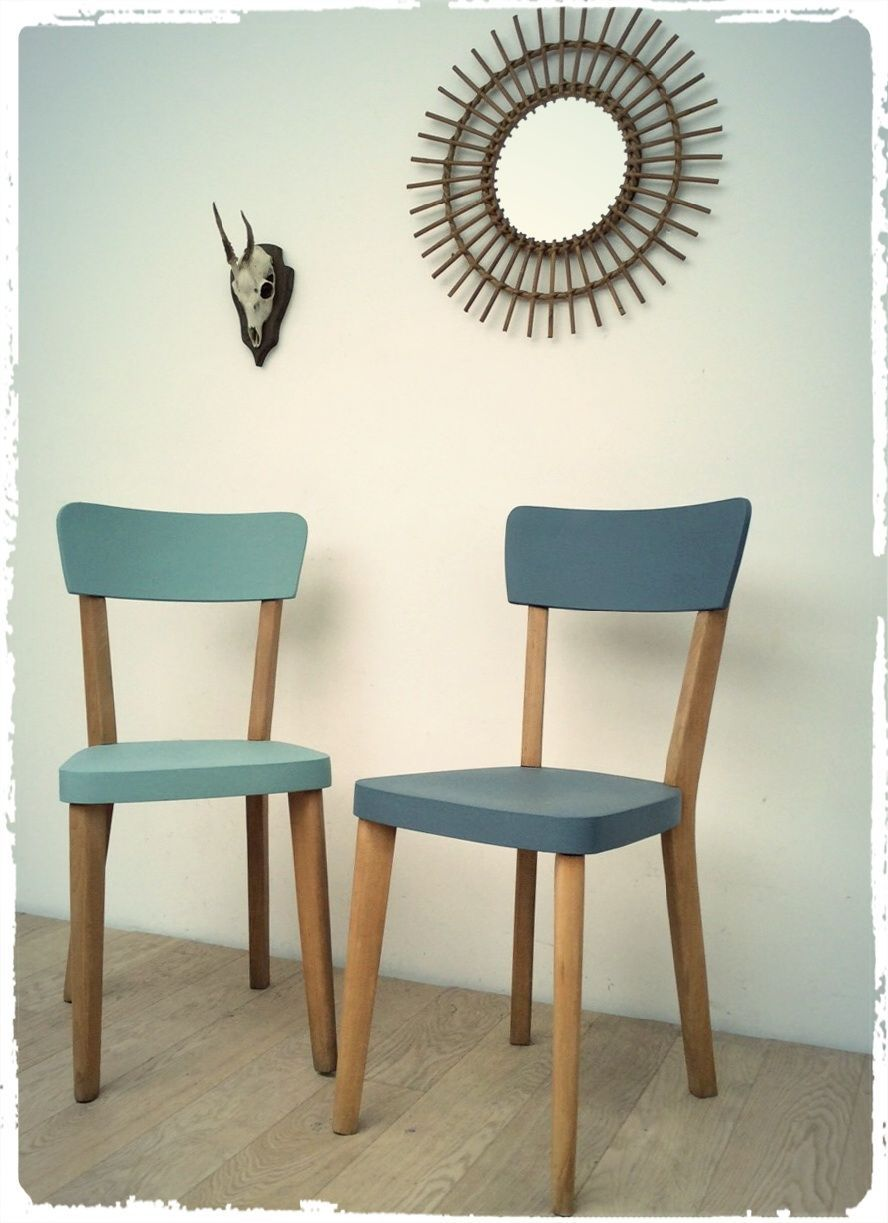 Chaises Luterma Vintage Revisitées via OOMPA. Click on the