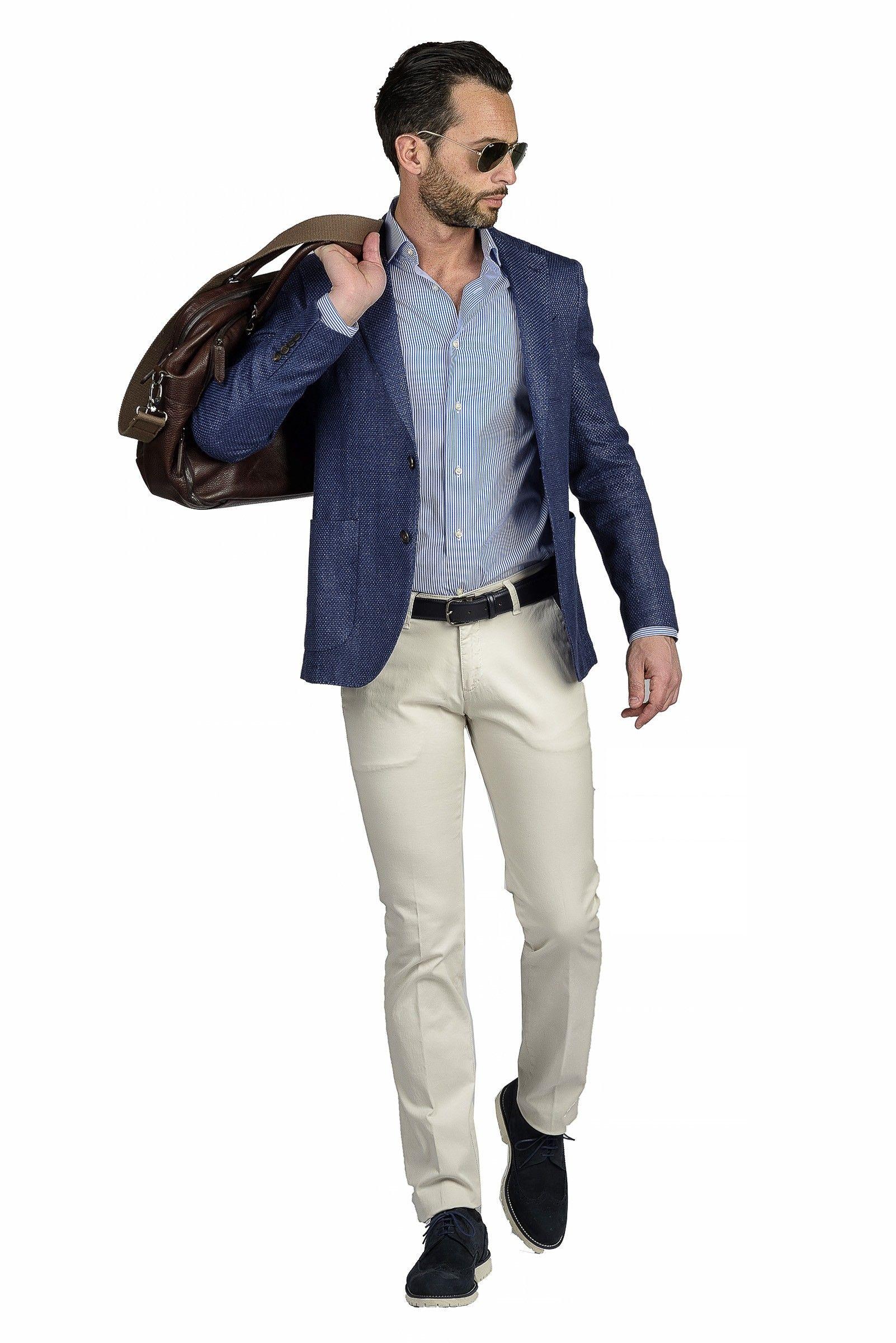Angelico Abbigliamento Lino Giacca Giacche Slim Bluette 0aa5qwbx Cotone SSqYWz6
