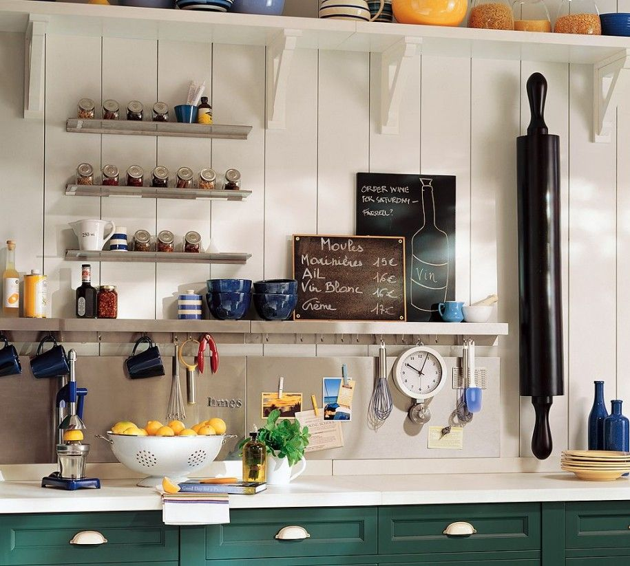 1000+ images about small kitchen storage on Pinterest | Shelves ...
