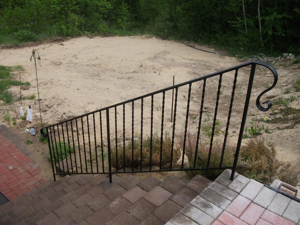 Wrought Iron Handrails Wrought Iron Handrail By Mainely Handrails For The Porch