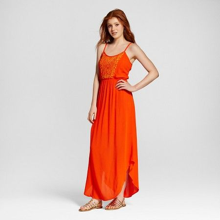 Mossimo maxi dress coral