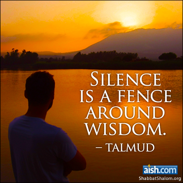 ... wise Talmud words ...
