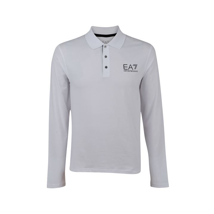 EA7 TRAIN CORE POLO £79, Excellent fit, branded detailing, showing off some major fashion power, great with some straight leg jeans and boots, Undo the buttons role up the collar and be extra street casual