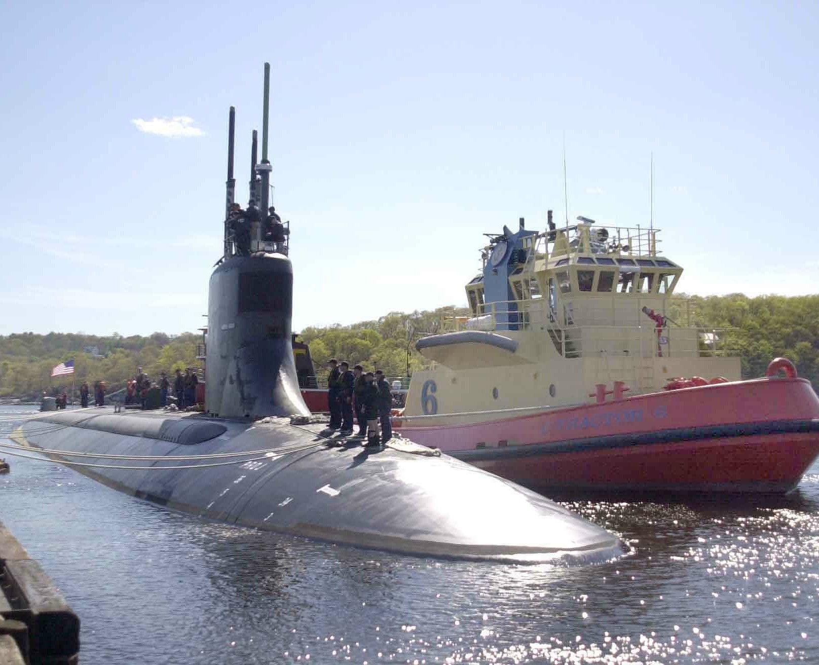submarine uss connecticut ssn-22 submarine base new london