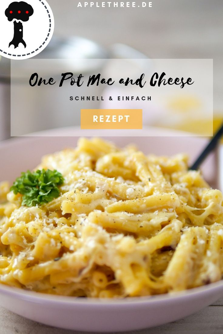 Photo of One Pot Mac and Cheese Recipe – Applethree | Food, Travel & Life