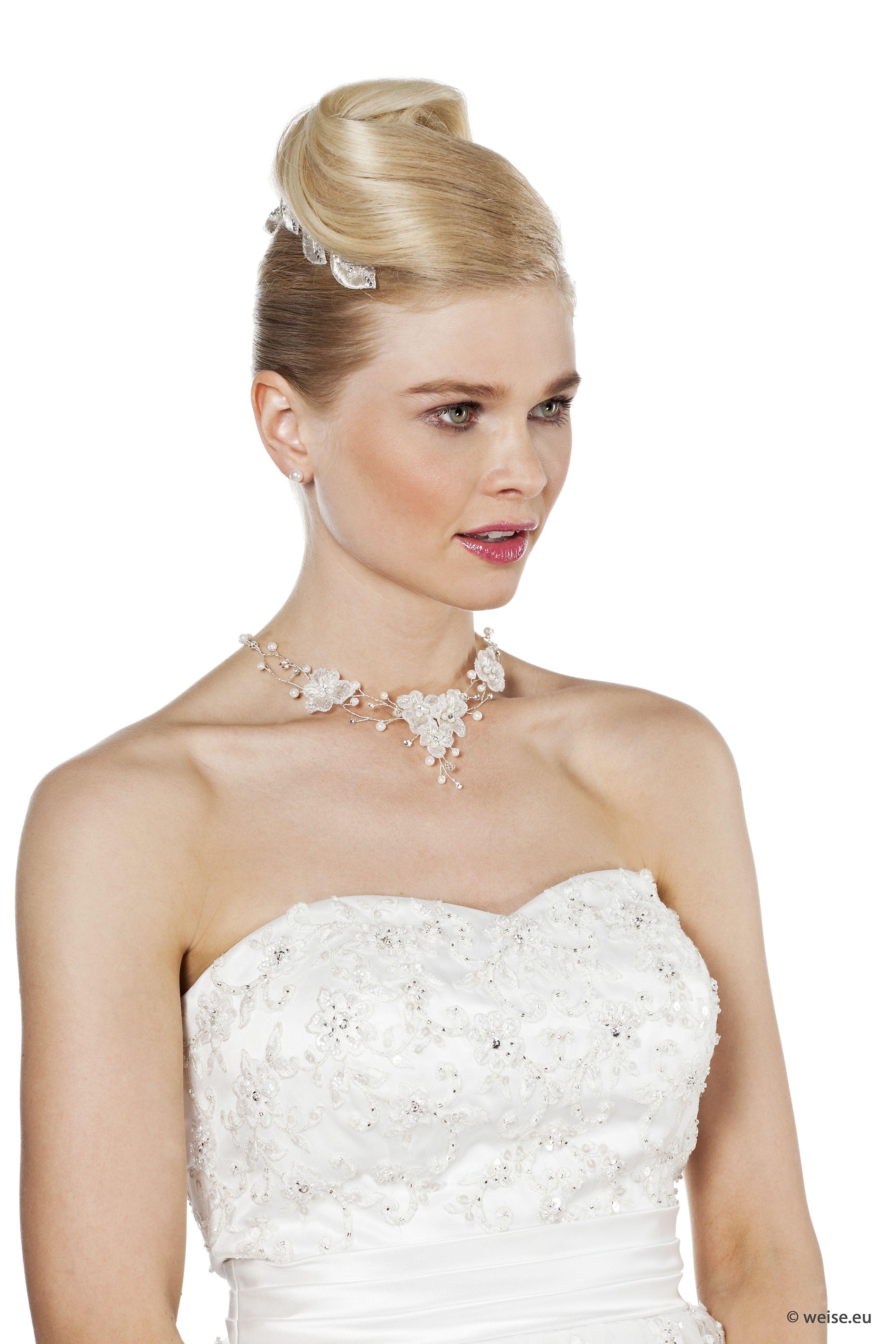 Brautfrisur gesteckt make up jewellery u hair plus alot more