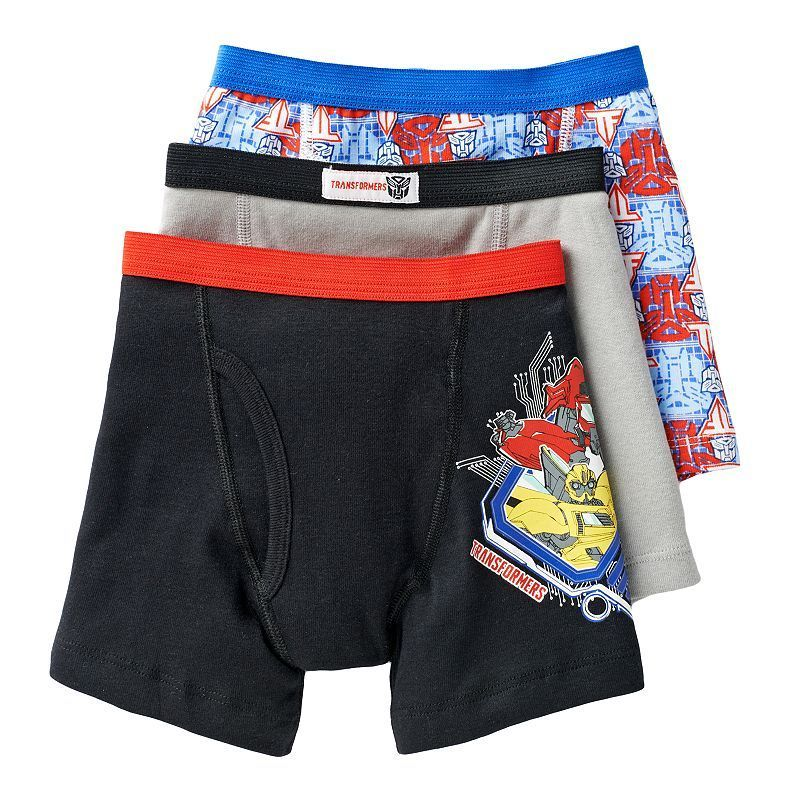 9119e5585e Transformers 3-pk. Boxer Briefs - Boys 8-20 | Munchkin Fashion ...