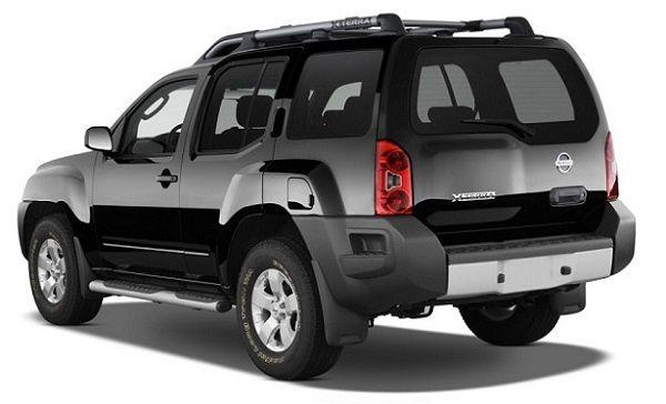 2016 Nissan Xterra Back