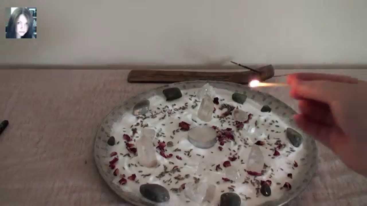 Healing Witch - Altar set up