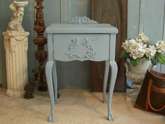 Shabby Blue Nightstand Cabinet The Shabby Chic Furniture Bedside Table  Antique Cabinet Table on Etsy, - Shabby Blue Nightstand Cabinet The Shabby Chic Furniture Bedside