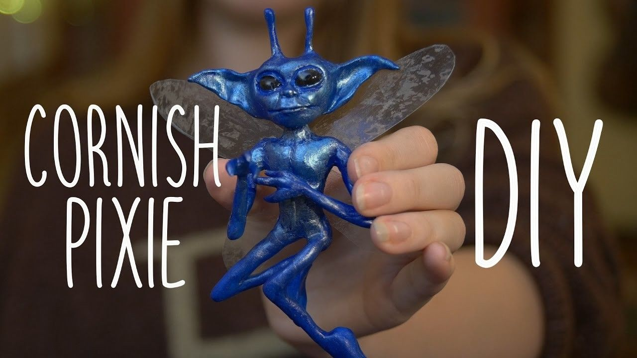 Cornish Pixie From Harry Potter - DIY