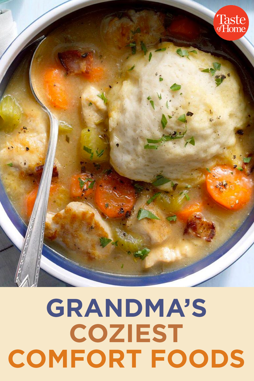100 of Grandma's Coziest Comfort Foods