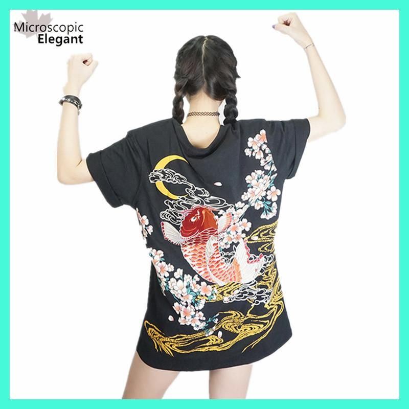 punk funk rock t-shirt harajuku 2017 Japan YOKOSUKA embroidery ...