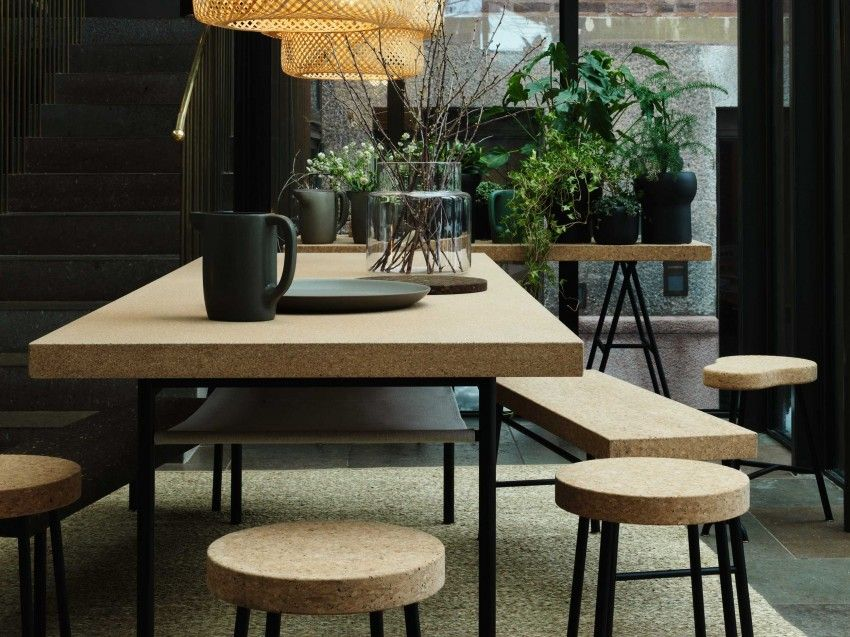 Ilse Crawford Ikea Capsule Design Durable Bambou Liege Sinnerlig Ikea Maison Et Objet Deco