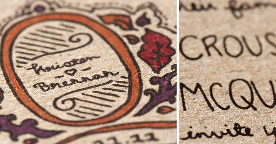 by #lovelypaperthings #weddings #invitations #rustic