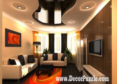 Ceiling Design For Living Room Pleasing Pop Ceiling Designs For Living Room 2015 Pop Design And Lights Review