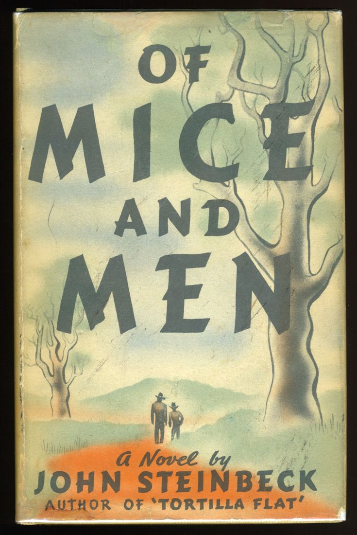 An Original Cover For Of Mice And Men Google Search Classic Books Of Mice And Men Books
