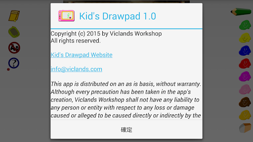Kid's Drawpad is particularly designed for kids with super easy-to-use painting on photo or canvas. <p>APP FEATURES:<br>* paint on canvas or photo<br>* 5 size brushes.<br>* 8 different colors.  http://Mobogenie.com