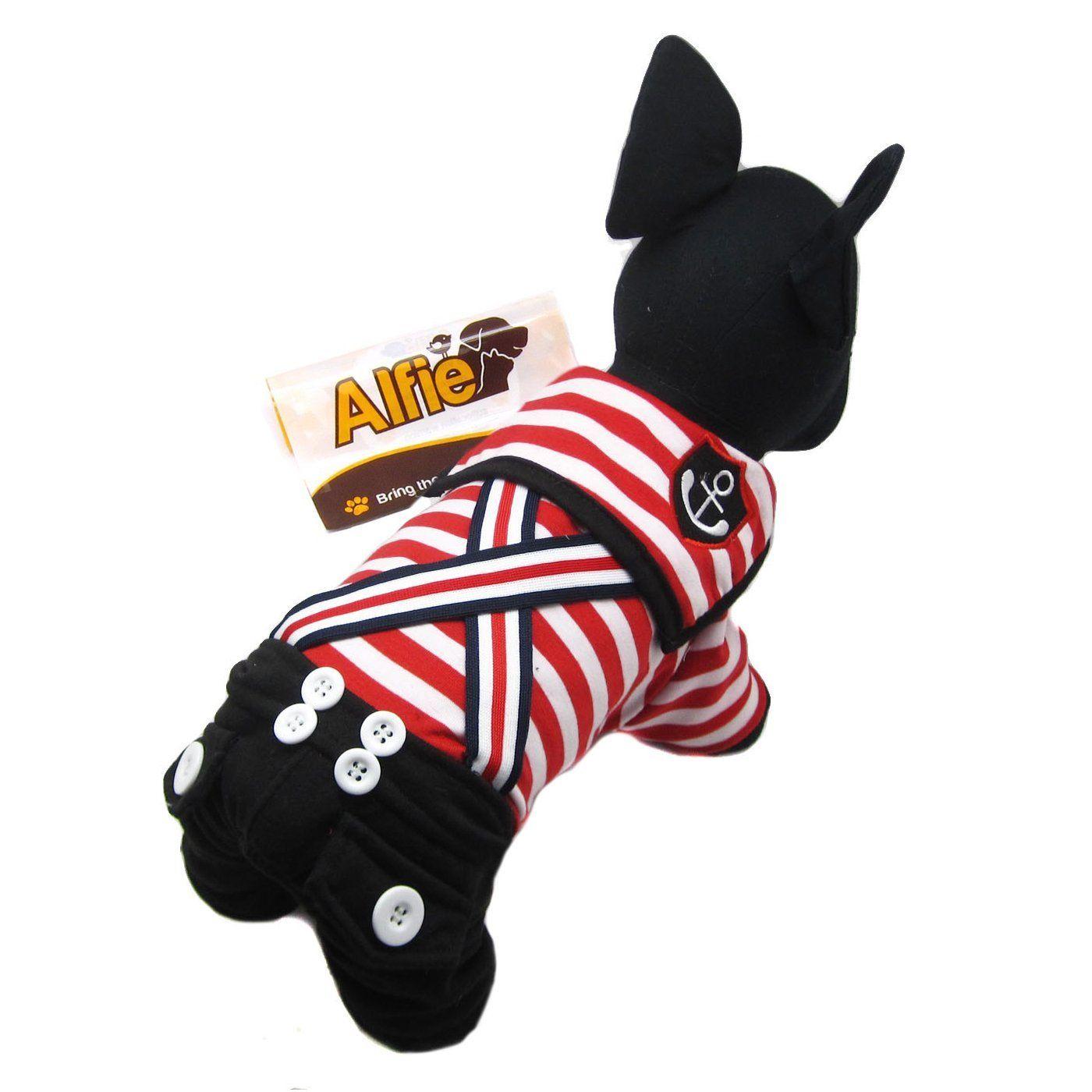 Alfie Couture Designer Pet Apparel - Adan Sailor Jumper ** Click image to review more details.