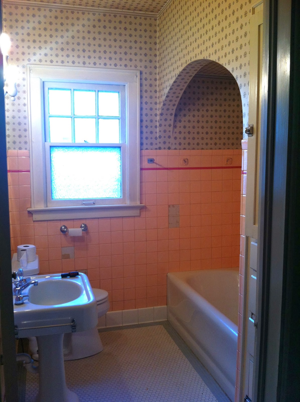 removing plastic tile from bathroom wall in 2020 ...