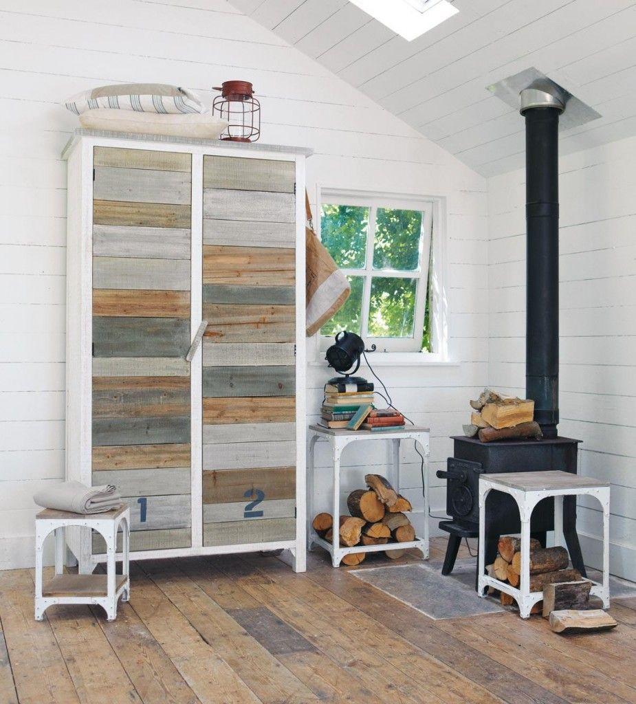 armoire noirmoutier par maisons du monde avec une. Black Bedroom Furniture Sets. Home Design Ideas
