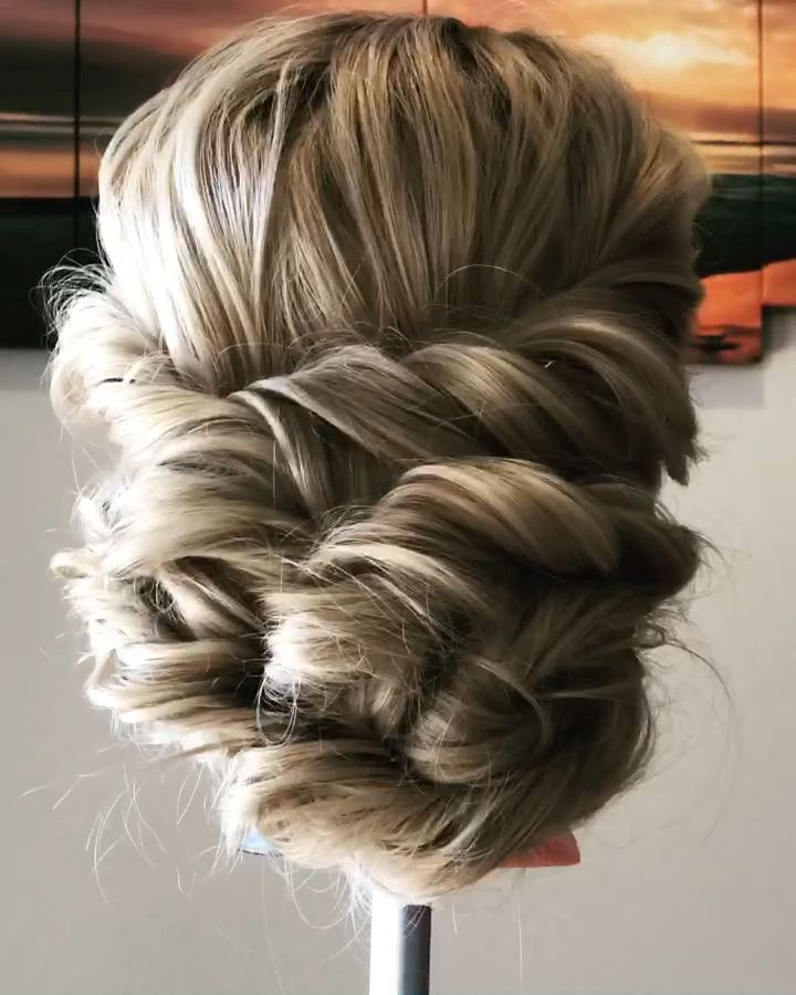 Boho Updo Tutorial