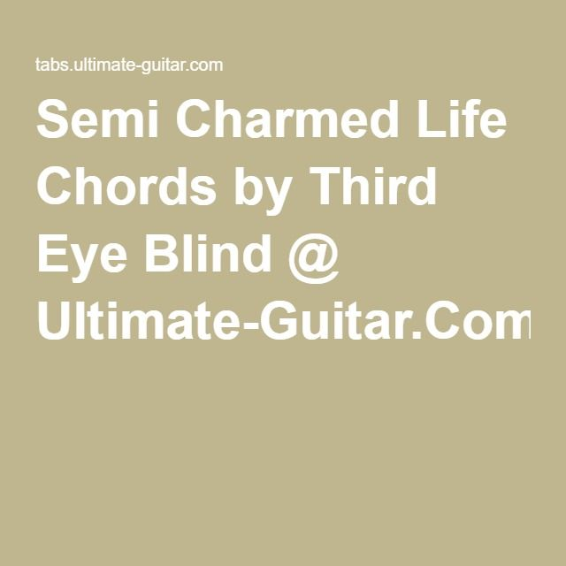 Pin by Josh Campbell on Chords and Tabs | Pinterest | Third eye ...