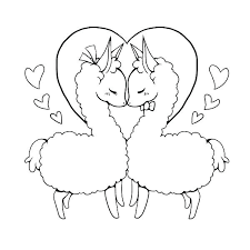 Llama Coloring Page Google Search Animal Coloring Pages Llama Drawing Coloring Pages