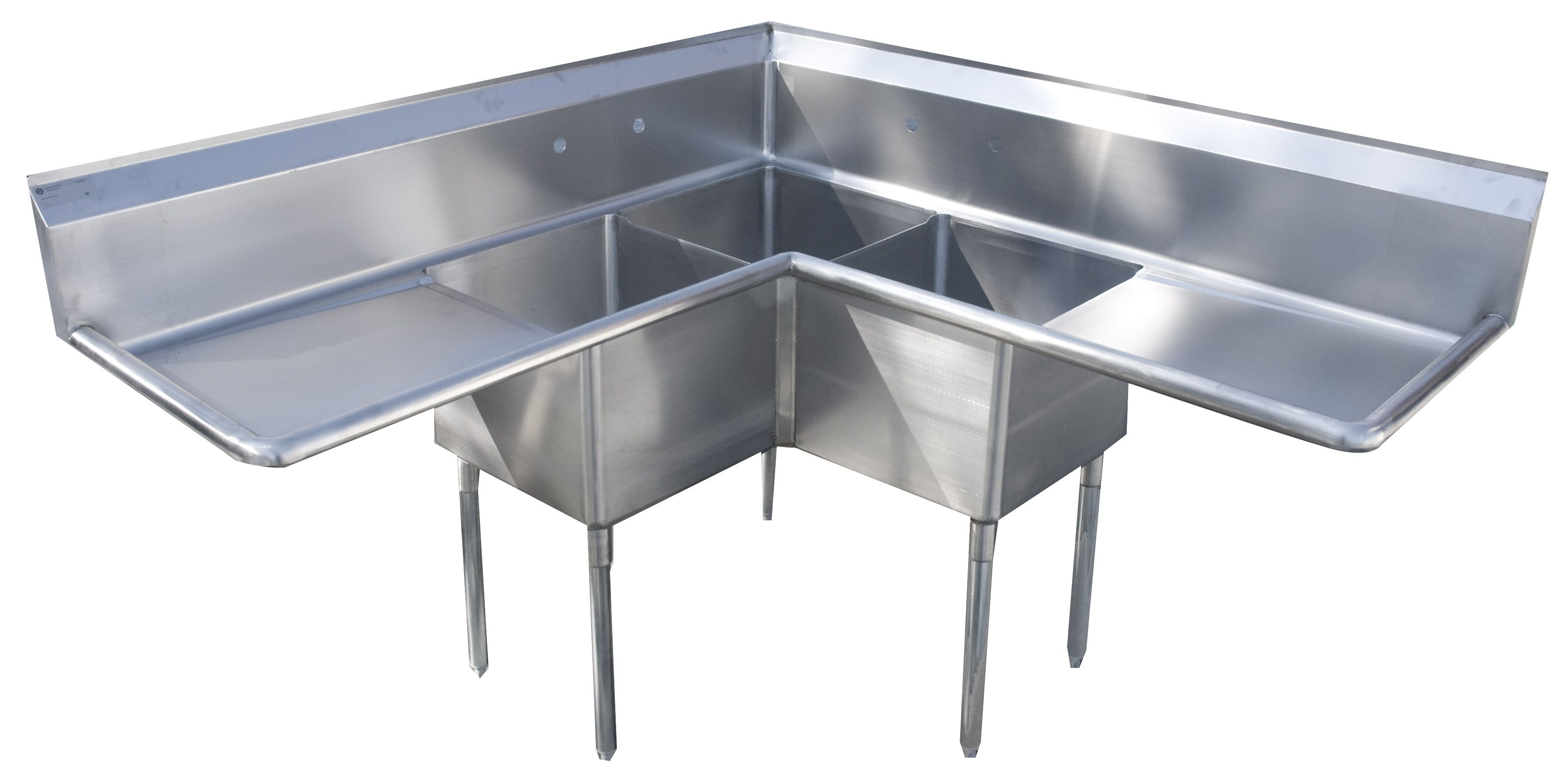 Restaurant Kitchen Sinks Stainless Steel Con Imagenes Estudio