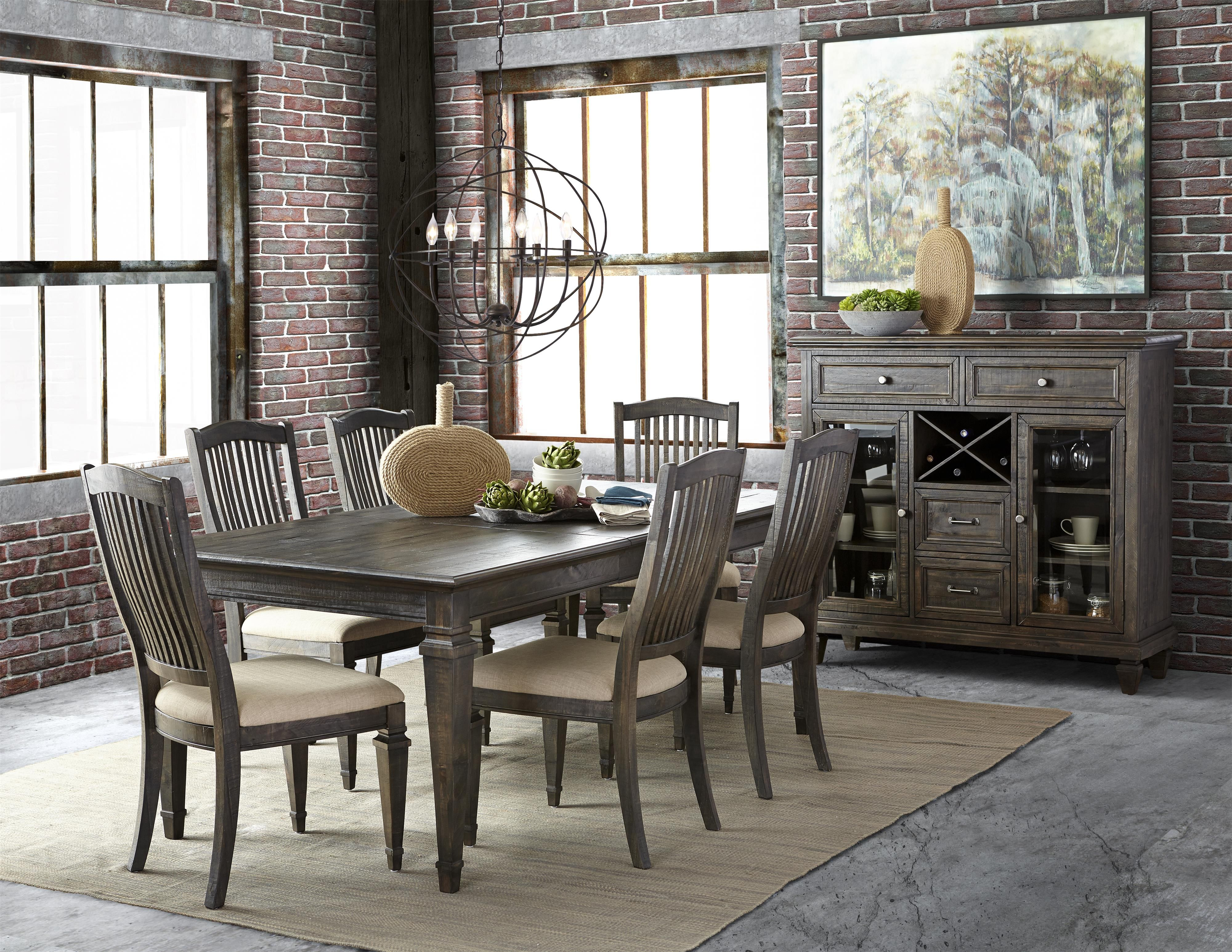 sutton place formal dining room group by magnussen home