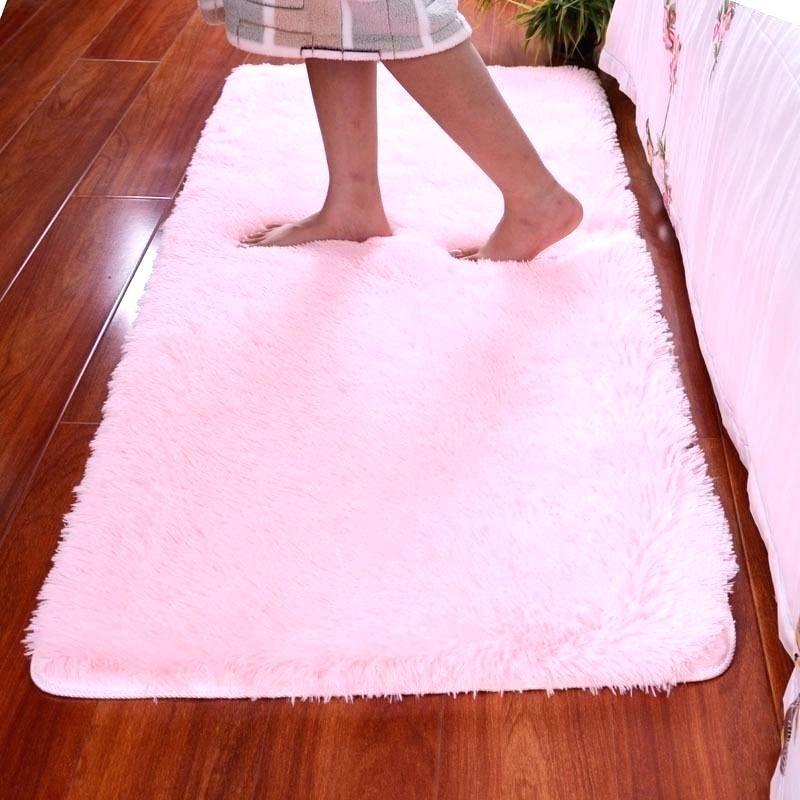 Pink Area Rug For Nursery Dengan Gambar