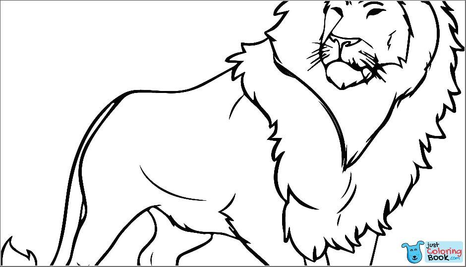 Lion Pictures Coloring Pages Cortexcolorco Throughout Trapped Lion Coloring Pages Download More Free Printable Hd Images For Lion Coloring Pages By Visiting
