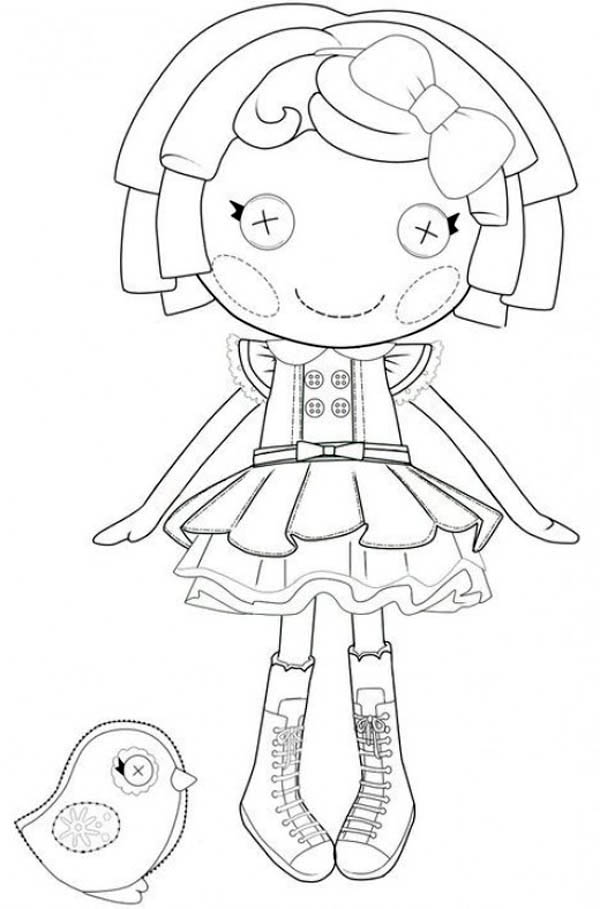 Dot Starlight From Lalaloopsy Coloring Page Color Luna In 2020 Mermaid Coloring Pages Lalaloopsy Coloring Pages