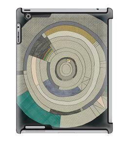 Uncommon LLC Marco Cibola Loop Deflector Hard Case for iPad 2/3/4 (C0050-WG)