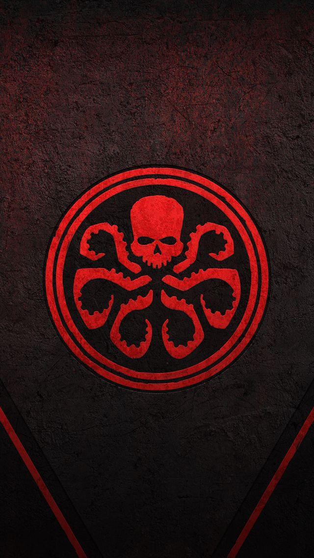Hydra #skull #octopus | HYDRA | Marvel logo, Marvel ...