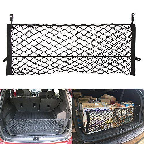 ENVELOPE STYLE TRUNK CARGO NET FOR GMC Acadia Chevy Traverse Buick Enclave  NEW
