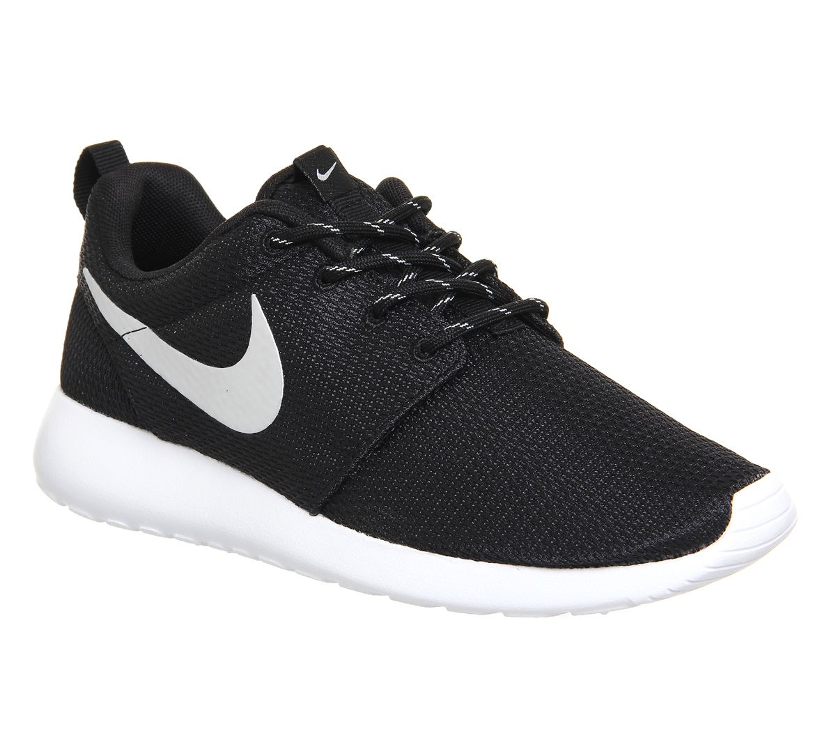 59e4e8922dfc Buy Black Metallic White Nike Roshe Run from OFFICE.co.uk.