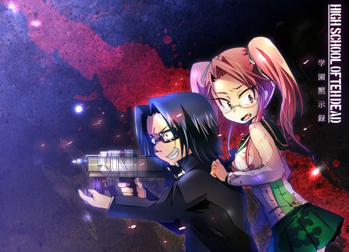 Highschool Of The Dead Hd Wallpaper 1920x1080 Id 51651