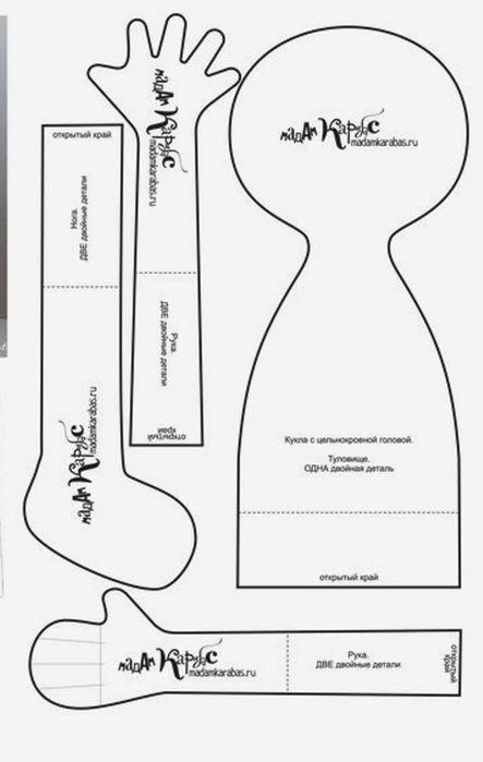 Muñecas primitivas con patrón | costura | Pinterest | Primitivo ...