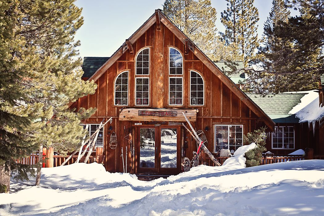 Lost Trail Cabin In Lake Tahoe, California. Photo By Stephanie Court.