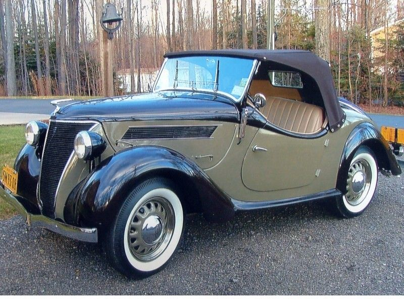 1937 Ford Eifel Roadster 1of 3 Known Surviving 1937 Eifel S Retro Cars Classy Cars Classic Cars Vintage