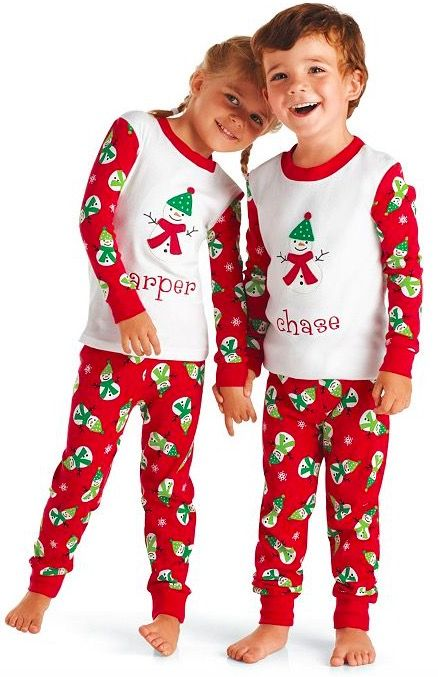 Kids Chilly Snowmen Pajamas | Mommy, Daddy & Me | Pinterest | Kid ...