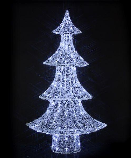 spun acrylic outdoor tree light noma christmas 2016 wwwnomaco
